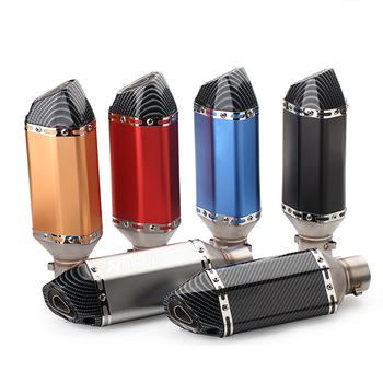 Exhaust Motorcycle Muffler DB Killer 51MM 61MM For ducati monster 1200 suzuki drz 400 ducati 848 bmw gs 310 suzuki samurai