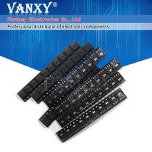 70 pièces AMS1117 Kit régulateur de tension 1.2V/1.5V/1.8V/2.5V/3.3V/5.0V/ADJ 1117 7 valeurs chacune 10 pièces