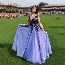 Новинка сексуальные вечерние платья а силуэта для выпускного
