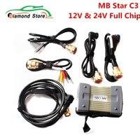 MB Star-herramienta de diagnóstico C3 V2020.12 para coches y camiones, escáner de diagnóstico con relés NEC, conexión compatible con 12V y 24V
