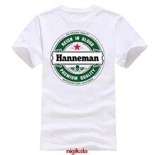 Hanneman Jeff Slayer Death Metal Black T-Shirt Mens Tee male teeshirt summer top tees man brand tee-shirt