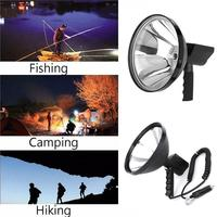 9 inch 1000W Portable Fishing Camping Light 245mm Outdoor Hunting Spot Brightness Handheld Lamp Searchlights 12V car lights
