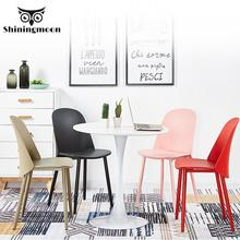 Nordic Minimalist Plastic Chair…