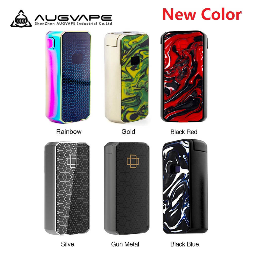 Hot Augvape Druga Foxy <font><b>Box</b></font> <font><b>Mod</b></font> Max <font><b>150W</b></font> No 18650 Battery <font><b>Mod</b></font> <font><b>Box</b></font> OLED Display Vape Vaporizer <font><b>e</b></font>-<font><b>cigarette</b></font> vs Drag 2/ Shogun image
