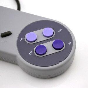 Image 5 - Controle de jogos usb para snes, joystick para computador windows, pc, mac, controle de videogame, 1 peça