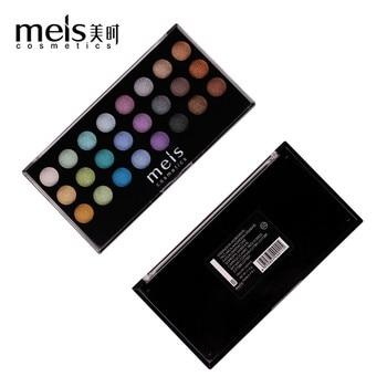 MEIS Smokey Eye shadow 24 Color Eye shadow Palette Make up Palette Shimmer Pigmented Eye Shadow Powder Shimmer Glamorous MS2413 цена 2017