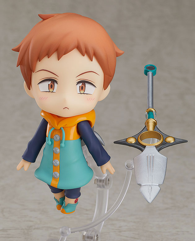 PrettyAngel - Genuine Good Smile Company GSC No. 960 The Seven Deadly Sins Revival of The Commandments King Action Figure 2