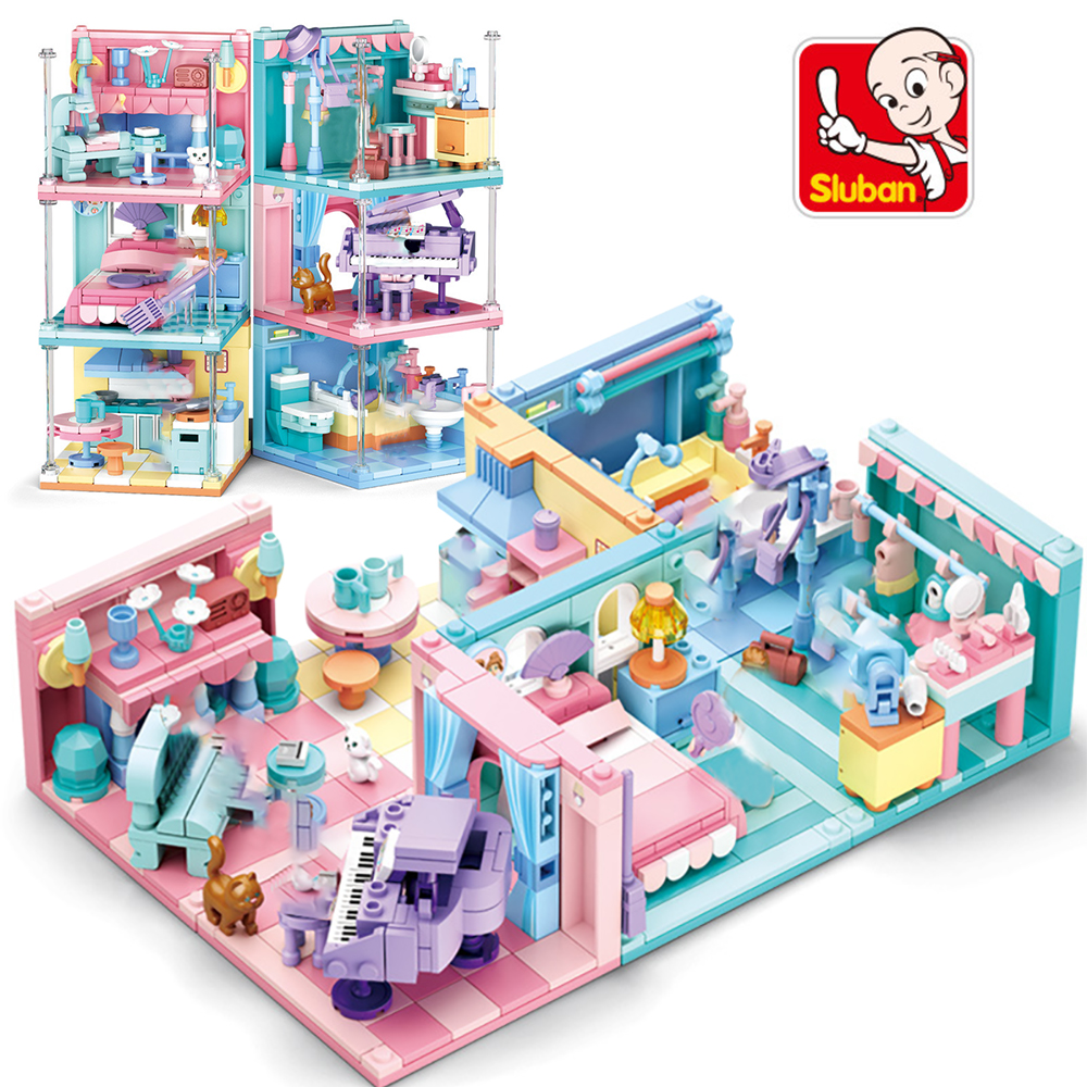 Little Treasures Baby Building Block 50 Pc Starter Set for Babies /& Toddlers Big blocks Compatible building blocks Set Create a Park with Two Figures