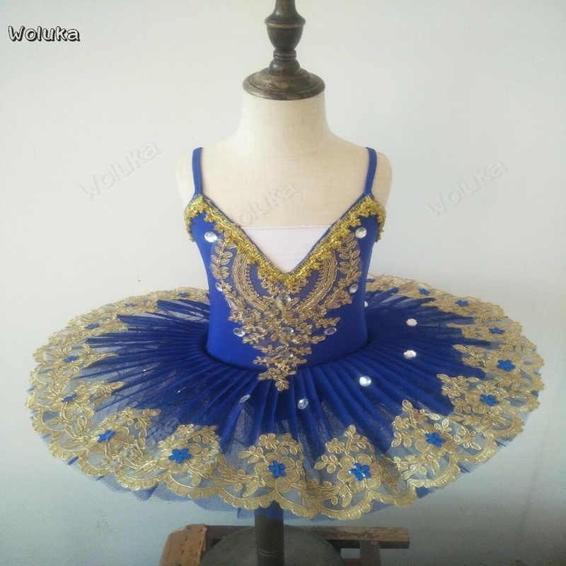 LED Bercahaya Balet Rok Kostum Dewasa dengan Lampu Anak Gaun Tari Rok Pakaian CD50 W02