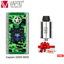 [Flash Sale]240W Vape mod Vaptio N1 Pro Box electronic cigarette vaping fits Dual 18650 Battery for 510 Thread atomizer