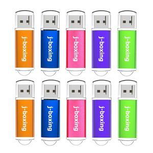 Image 1 - J boxing 10PCS USB Flash Drive 512MB 256MB 128MB 64MB Small Capacity Memory Stick Jump Drive Pen Drives for Desktop Multi colors