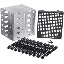 Hard-Drive-Disk-Enclosure Cage-Rack Caddy-Adapter SATA Disk-Tray To HDD SAS with Fan