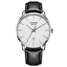 CADISEN 2020 Design Brand Luxury Men Watches Automatic White
