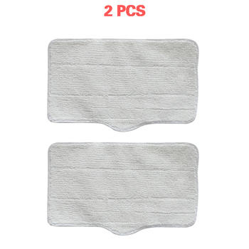 2 Pcs Mop Cloth Cleaning Pads for Xiaomi Deerma DEM ZQ600 ZQ610 Handhold Steam Vacuum cleaner Cleaner Mop Replacement Accessory hot deerma steam cleaner zq610 zq600 electric handheld mop floor cleaner for home