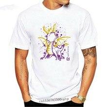 スパイロザ · ドラゴン80レトロゲームtシャツの男性のゲームtシャツシャツ