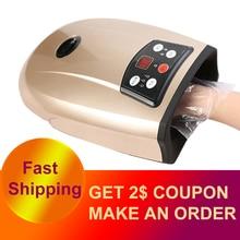Beheizten Hand Massager Physiotherapie Ausrüstung Pressotherapie Palm Massage Gerät Luft Kompression Finger Massage Gerät