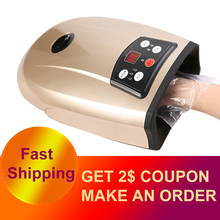 Heated Hand Massager Physiotherapy Equipment Pressotherapy Palm Massage Device Air Compression Finger Massager Apparatus