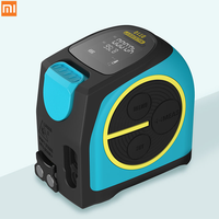 Xiaomi Youpin USB charging laser ranging tape measure multi function measurement data storage high precision LCD digital display