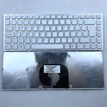 UK White Laptop Keyboard For SONY VAIO VPC-Y11 Y115 Y118 Y119 VPC-Y21 Y218 Y219 Y21AFJ VPC-Y22 Series new laptop keyboard for sony vaio vpc y vpcy series sp layout
