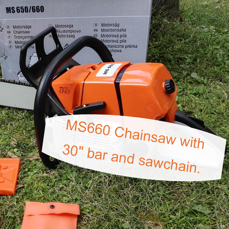 MS660 Chain Saw Factory Outlet WHITOUT Guide Bar And Chain Free Shipping