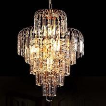 Luxury Royal Golden Crystal K9 Chandelier Crystal Golden Chandeliers Hall Living Room Lighting lustre de cristal