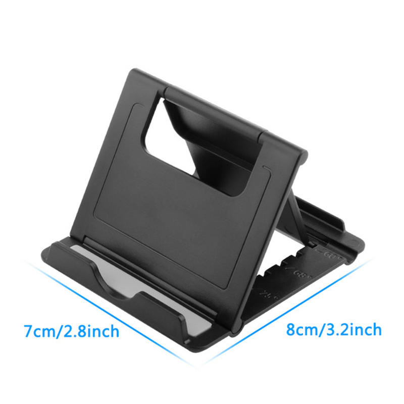Mini Universal Cell Phone Tablet Desk Stand Foldable Holder Smartphone Mobile Phone Bracket Support Adjustable Table Holders