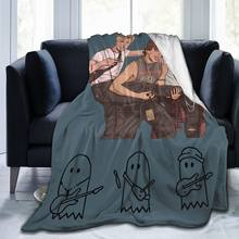 Ultra Soft Sofa Blanket Cover Blanket Cartoon Cartoon Bedding Flannel plied Sofa Bedroom Decor for Children and Adults 72