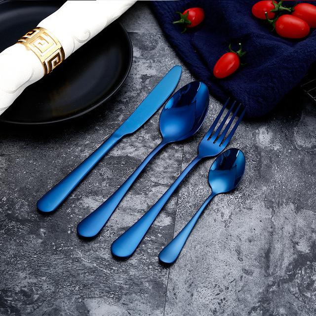Knife set, spoon, cutlery Wedding tableware