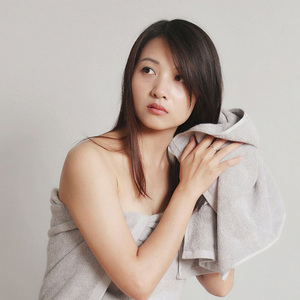 Image 4 - Orijinal youpin ZSH pamuk elyaf Antibacterical havlu emici havlu 2 renk 34*72cm yumuşak banyo yüz el havlusu aile kullanımı