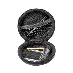 Snuff Set Brass Snuff Spoon + Aluminum Snuff Straw Tube Sniffer + Glass Pane + Glass Pill Bottle Smoke Pipe Access