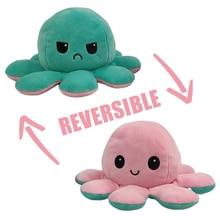 Reversible Flip Octopus Stuffed Plush Doll Soft Simulation Reversible Plush Toy Color Chapter Plush Doll Filled Plush Child Toy|Stuffed & Plush Animals|   - AliExpress