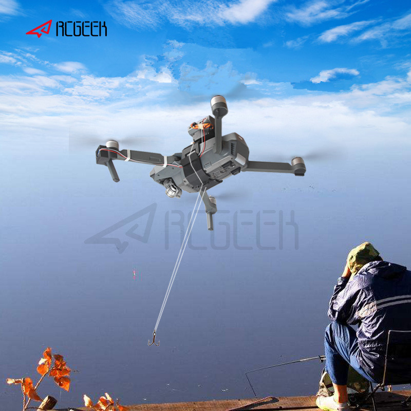 Shinkichon Pelter Fish Bait Advertising Ring Thrower For Fishing Publicity Propose For DJI Mavic Pro Drone Accessories