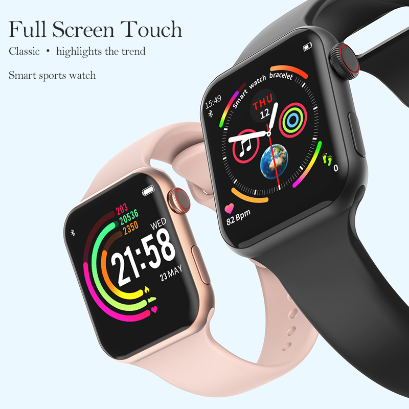 Timewolf F10 Smart Watch Series 4 Men Women iwo 8 lite iwo 10 Fitness Tracker Passometer Smart Watch For Android Smartwatch