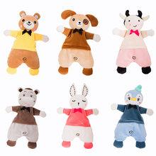 Плюшевые игрушки для новорожденных мультяшный медведь кролик