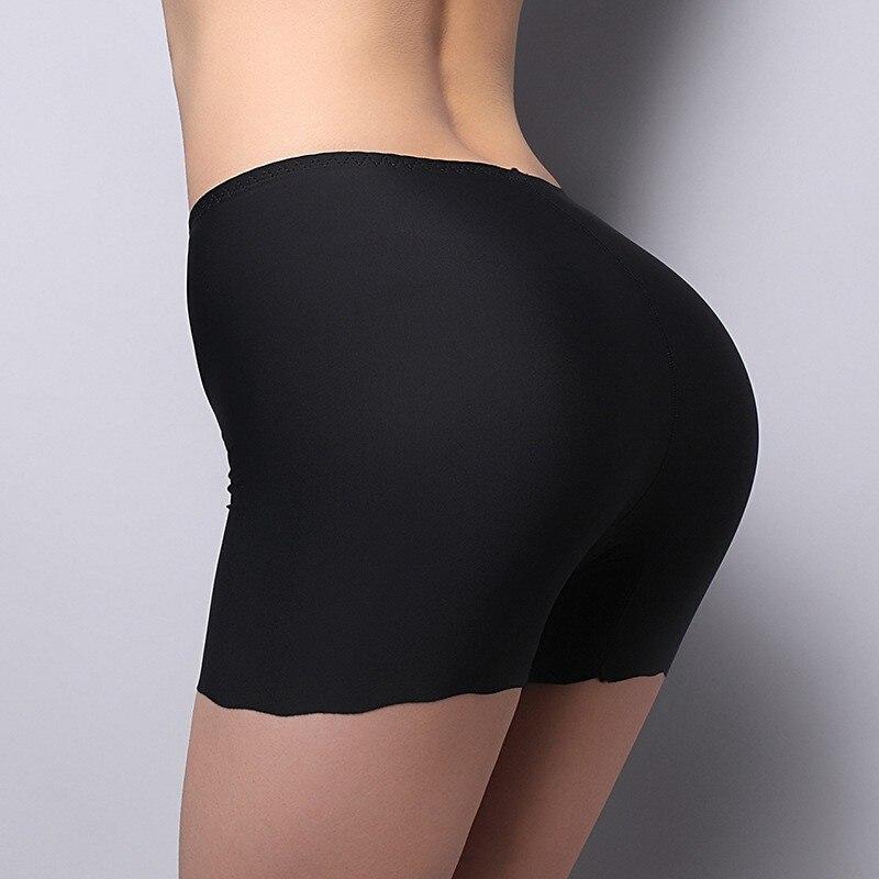 Luxury Silk Satin Underwear Women Legging Panties New Brand Designer Solid Seamless Women's Panties 2