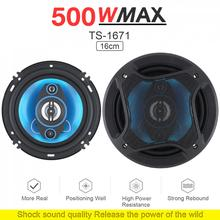 Frequency Coaxial-Speaker Hifi Audio Stereo 6inch Full-Range 500W 2-Way 2pcs/Lot Car