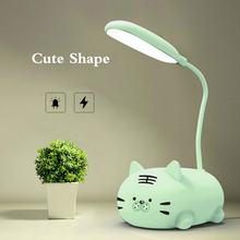 Светодиодная настольная лампа с usb зарядкой прикроватная декор