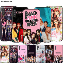 Webbedepp BLACKPINK kpop Case for Samsung Galaxy S7 S8 S9 S10 Plus Edge Note 10 8 9 A10 A20 A30 A40 A50 A60 A70(China)