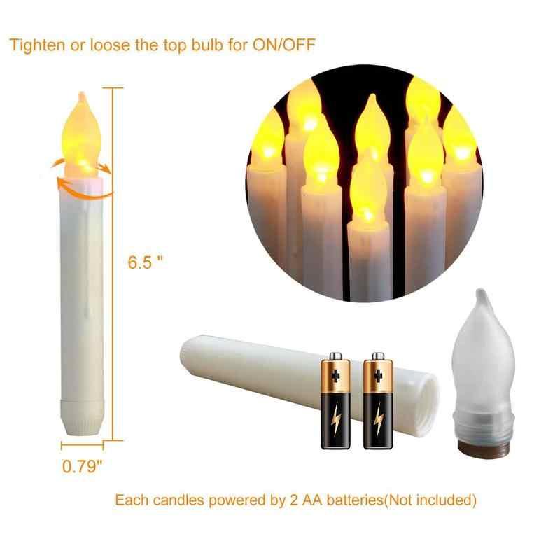 1/3 pçs flameless led velas tealight luzes da noite lâmpada bateria operado festa de aniversário casamento natal dia das bruxas decoração da sua casa