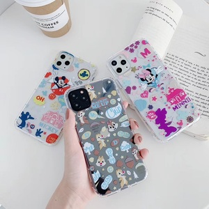 Cartoon Mickey Minnie chip dale Luxury TPU Phone Case for Apple iphone 11 pro max 8 7 66S Plus X XS XR XS MAX mobile case(China)