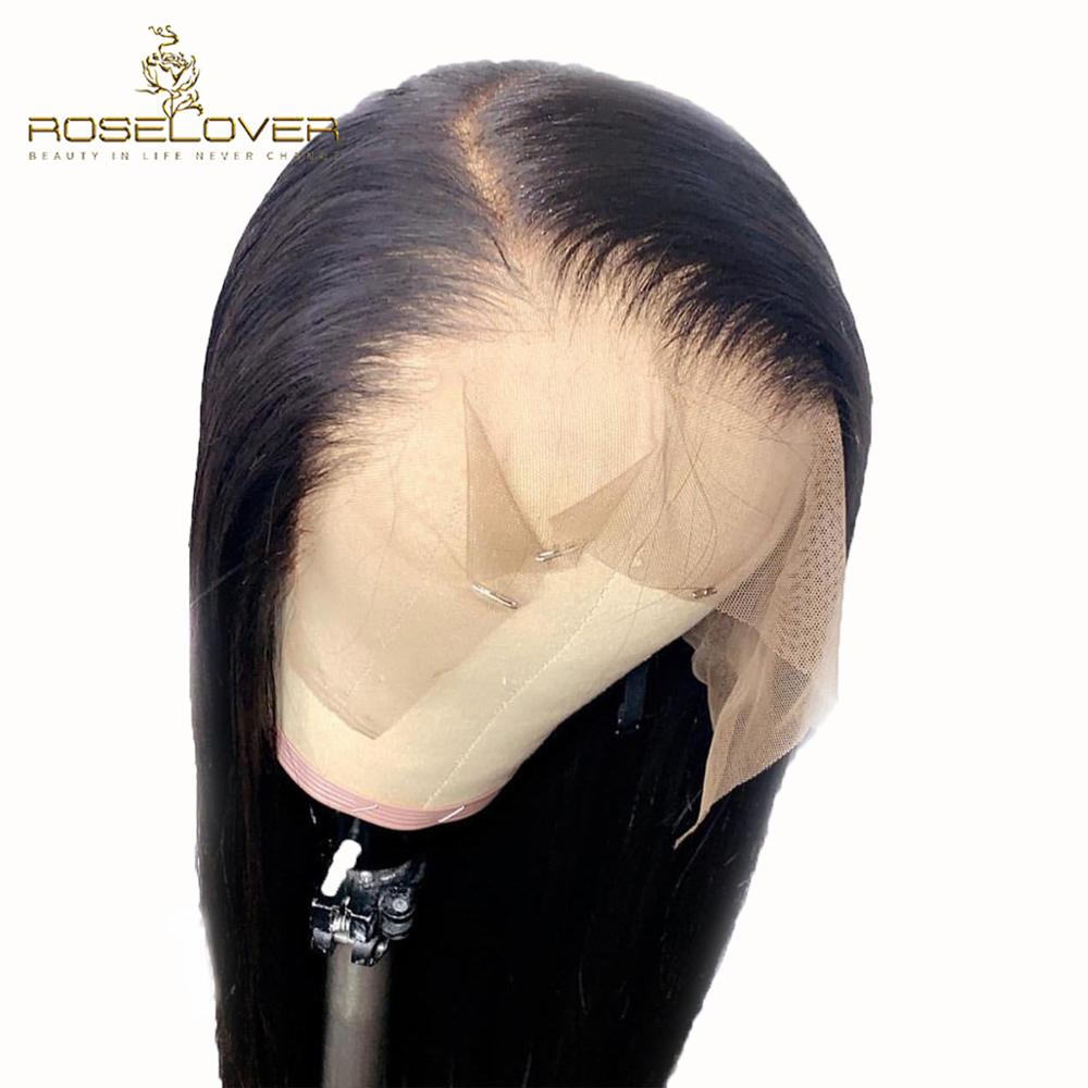 Pre Plucked 13x6 Straight Lace Front Wigs Deep Part Glueless Lace Front Human Hair Wigs With Baby Hair Brazilian Remy Human Hair