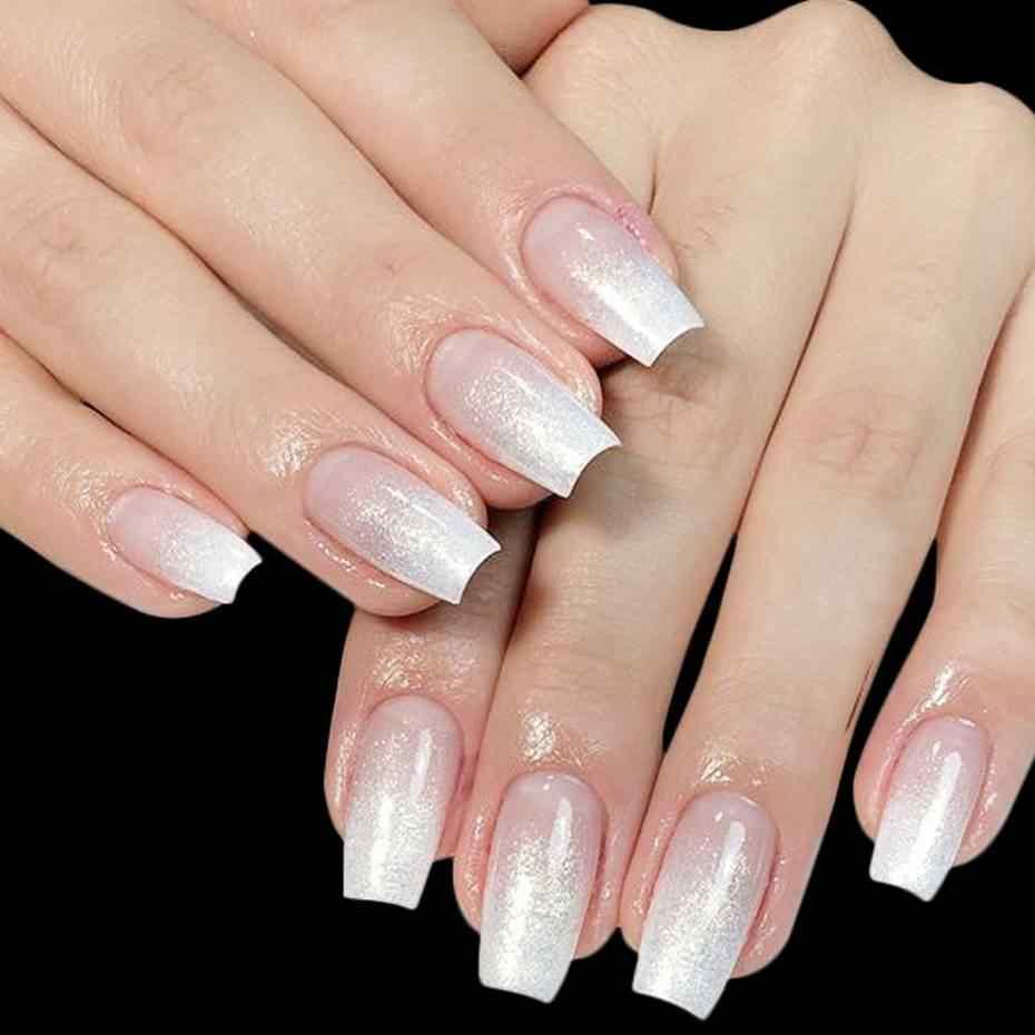 5/10pcs In Fibra di vetro Nails Art di Seta Estensione UV Del Gel In Fibra di Costruzione Involucri Acrilico FAI DA TE Nail Forms Tips Francese strumenti per Manicure