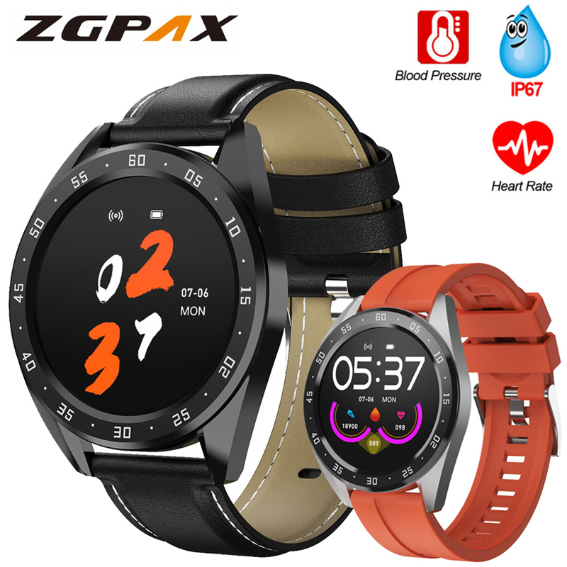 Smart Watch Men Women 1.3 Inch Round Screen Smart Watch Blood Pressure Measurement Oxygen Smartwatch Watch Smart For IOS Andriod