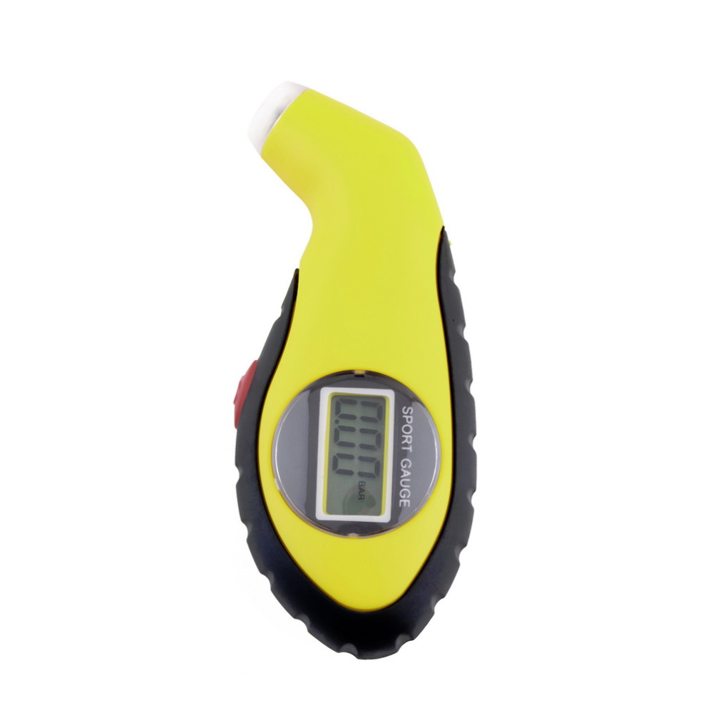 Digital LCD Tire Tyre Air Pressure Gauge Tester Tool For Motorcycle Auto Car Tire Pressure Gauge Tester With Monitor