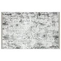 Apex Cornelia 4 'x 6' Chenille Grey Area Rug