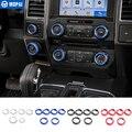 MOPAI Auto Innen Klimaanlage & 4 WD Vier-Rad & Anhänger Taste Schalter Knopf Dekoration Abdeckung Ring Für ford F150 XLT 2016 Up