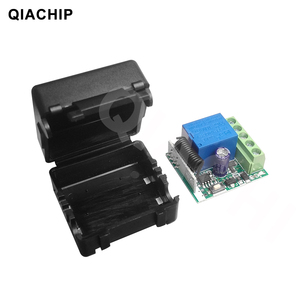 Image 2 - QIACHIP DC 12V 1 CH Wireless Remote Control Relay Switch Module Learning Code DC 12V RF Superheterodyne Receiver 1CH Controller