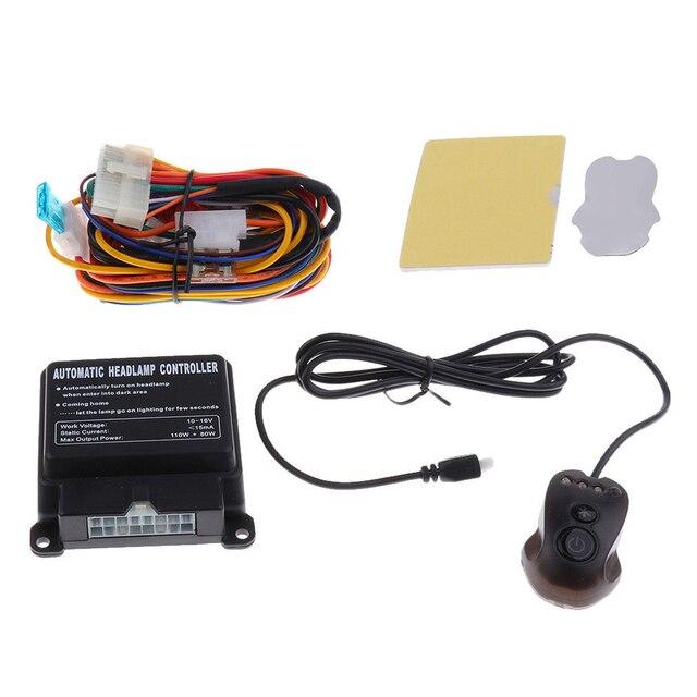 자동차 자동 유니버설 쉬운 설치 조정 가능한 지능형 스마트 컨트롤 민감한 시스템 스위치 액세서리 헤드 라이트 센서