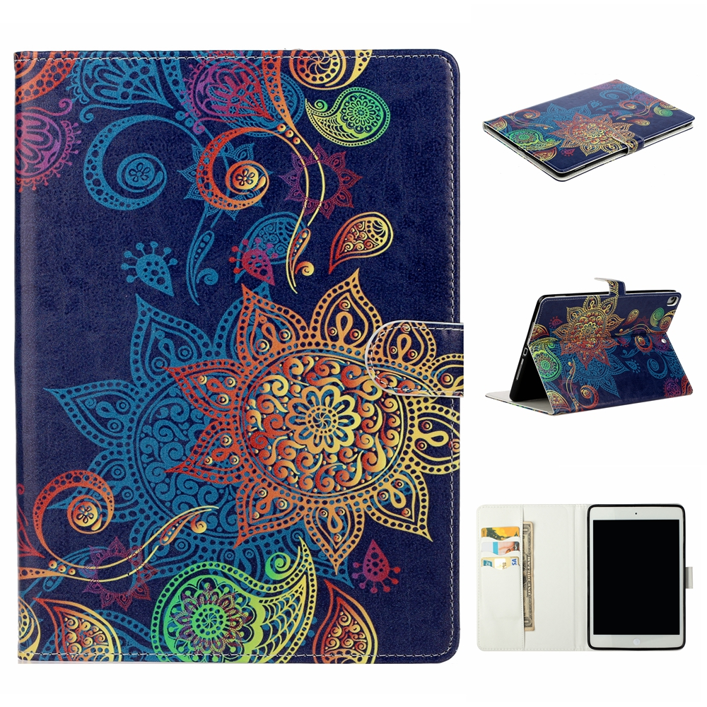 Case Black Case For iPad 10 2 inch 2019 Stand Auto Sleep Smart Folio PU Leather Cover For