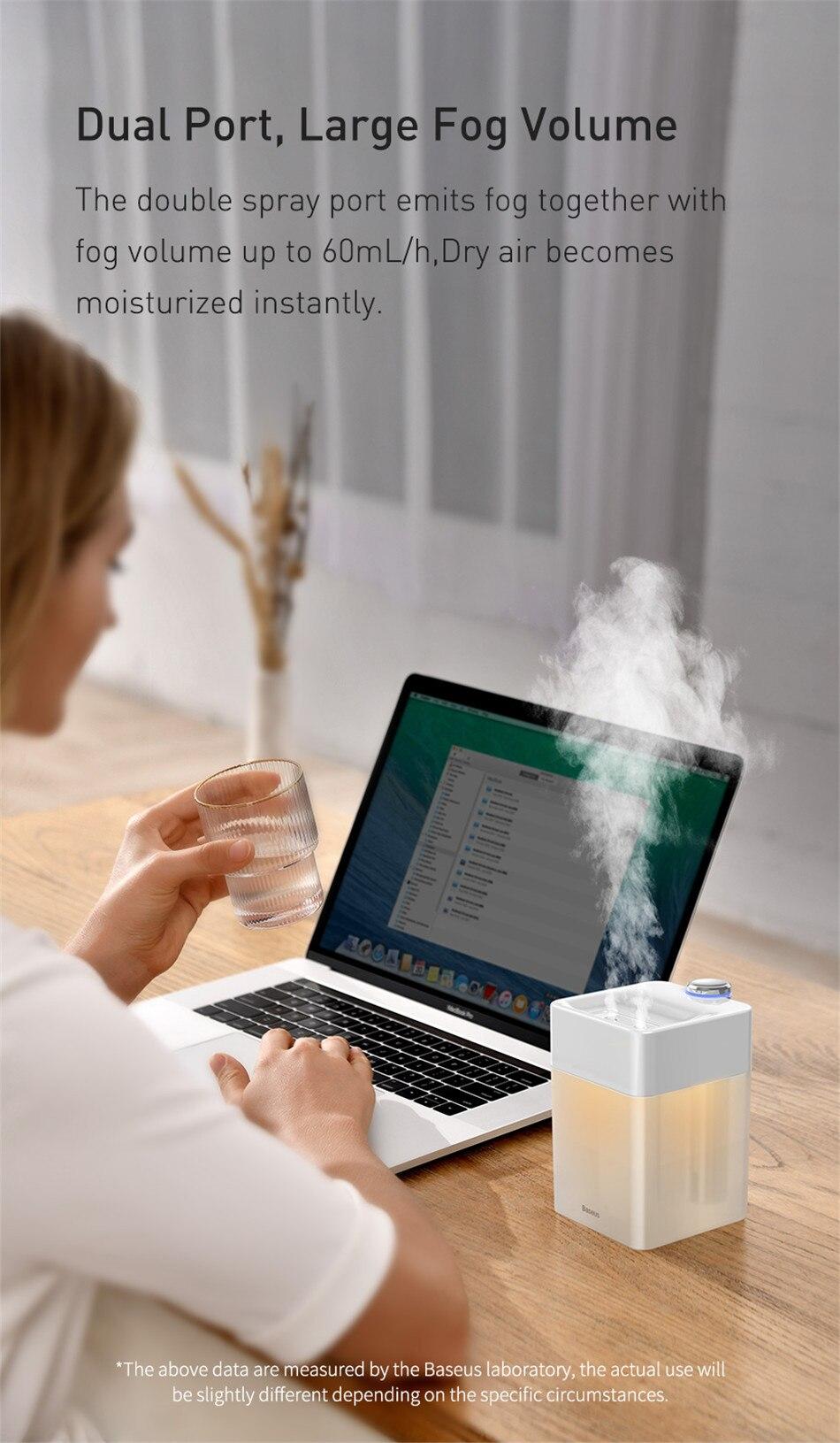 Baseus Time Magic Box Dual Spray Humidifier 6